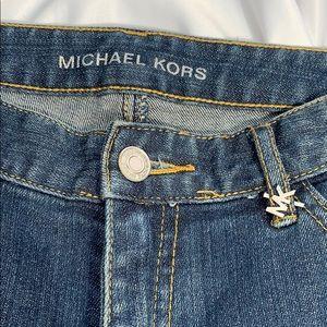 Michael Kors Silver Studded Jeans Size 6